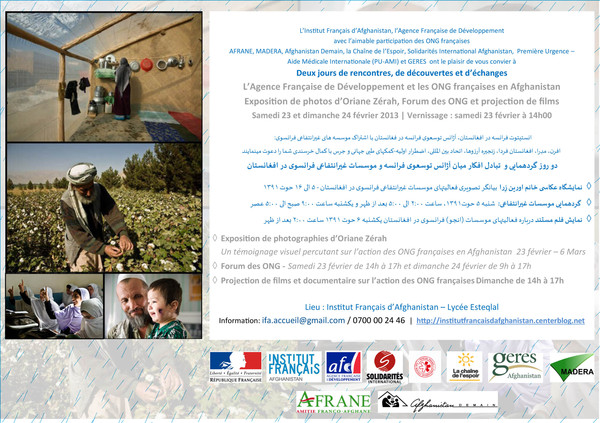 Photo Exhibition and French NGOs' forum